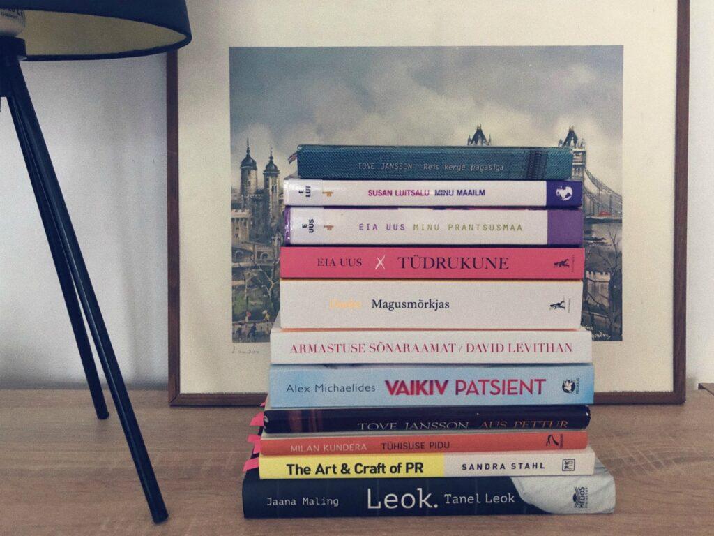 Suvelugemine, juuli 2020 loetud raamatud